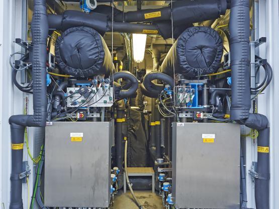 Elektrolyseure sind Schlüsselkomponenten für Energiespeicherkonzepte.