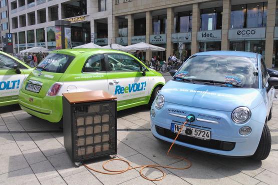 WEMAG bei der Klimawoche mit Energiespeicher und Elektromobilität dabei