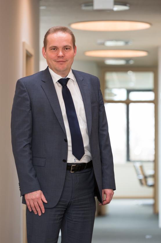 Michael Hillmann, Leiter des Vertriebs der WEMAG AG