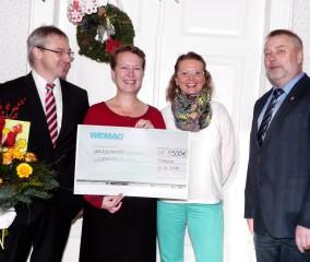 WEMAG spendet der Lebenshilfe Brandenburg 1500 Euro