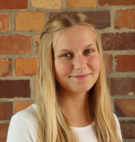 Praktikantin Annika Hillmann