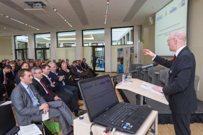 Christian Pegel beim 4. Energieforum M-V in der IHK