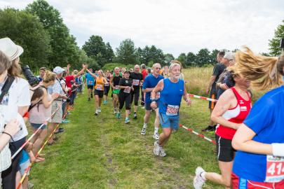WEMAG-Energieläuferanten beim Fünf-Seen-Lauf in Schwerin