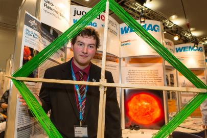 Felix Becker belegt im Fachgebiet Geo-und Raumwissenschaften den 1. Platz