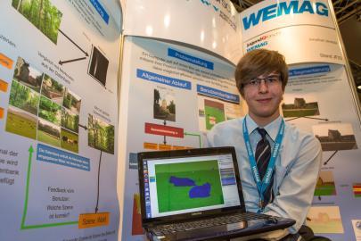 Jonathan Janetzki gewinnt im Fachgebiet Mathematik und Informatik