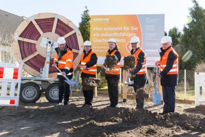 Spatenstich zum Breitbandausbau in Mecklenburg-Vorpommern