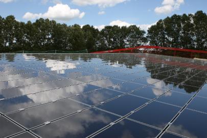 Photovoltaikanlage Plate