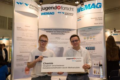 Jugend forscht 2018 Chemie