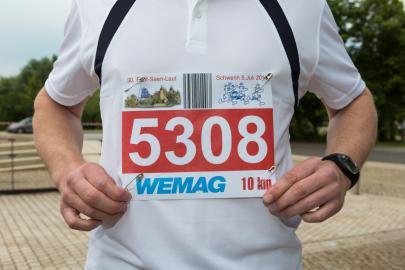 Das Team der WEMAG belegte den zweiten Platz in der Firmenwertung