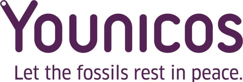 Younicos Logo mit Claim