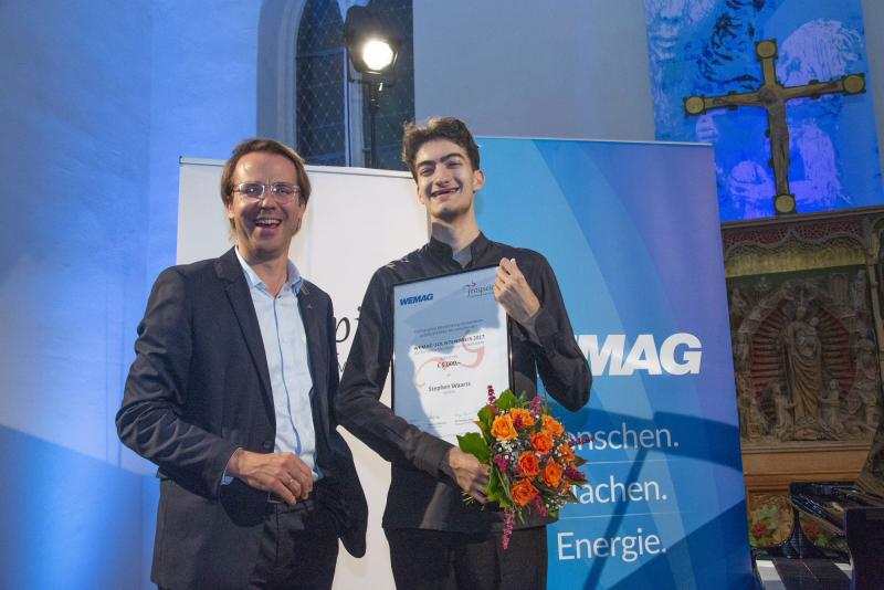 WEMAG-Solistenpreis 2017 geht an Stephen Waarts