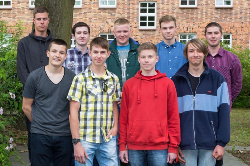 Die neuen Auszubildenden der WEMAG 2015