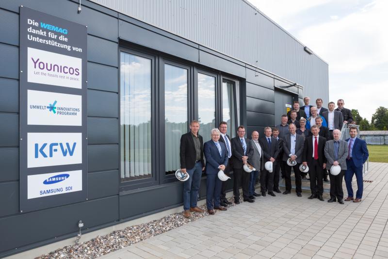 Wirtschaftsdelegation der Faröer Inseln besuchte den Batteriespeicher in Schwerin