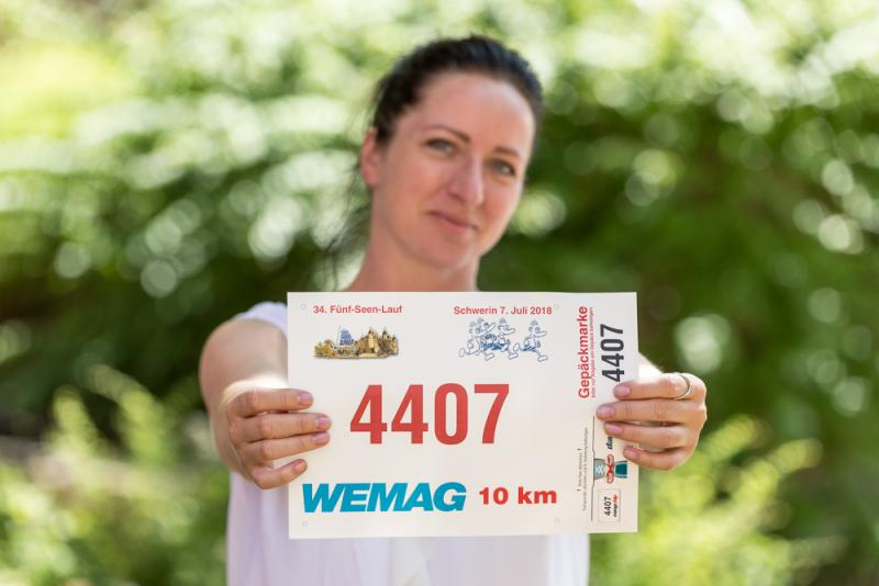 Die WEMAG ist Hauptsponsor des Fünf-Seen-Laufs.