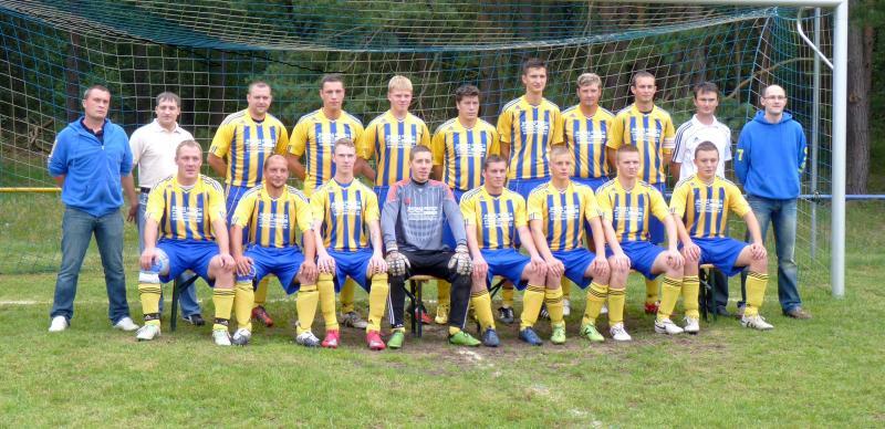 Männermannschaft des FSV Strohkirchen