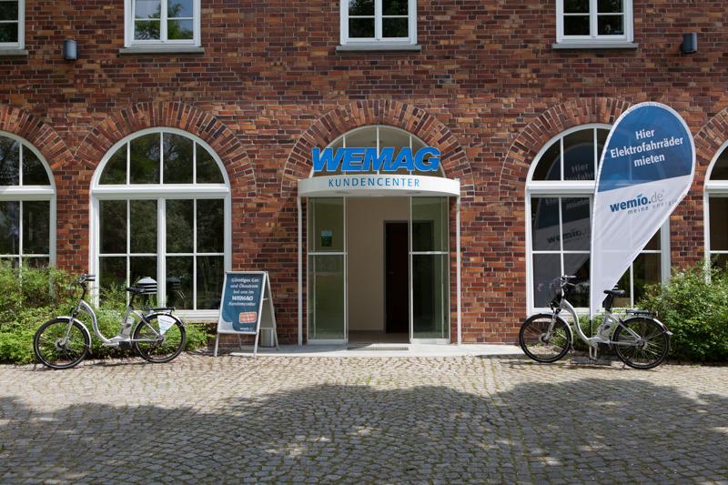 Kundencenter der WEMAG AG