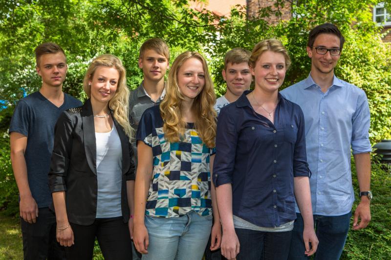 Die neuen Auszubildenden der WEMAG 2014
