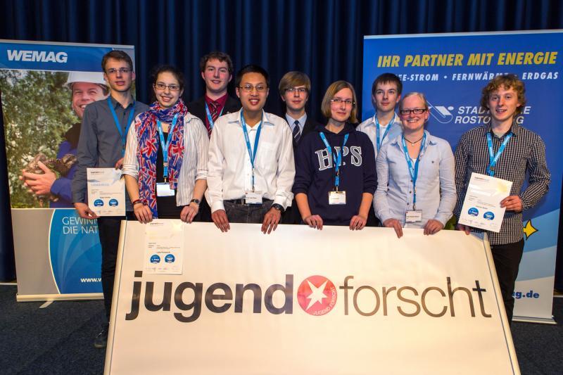 Sieger des Jugend Forscht Landeswettbewerbs MV 2014