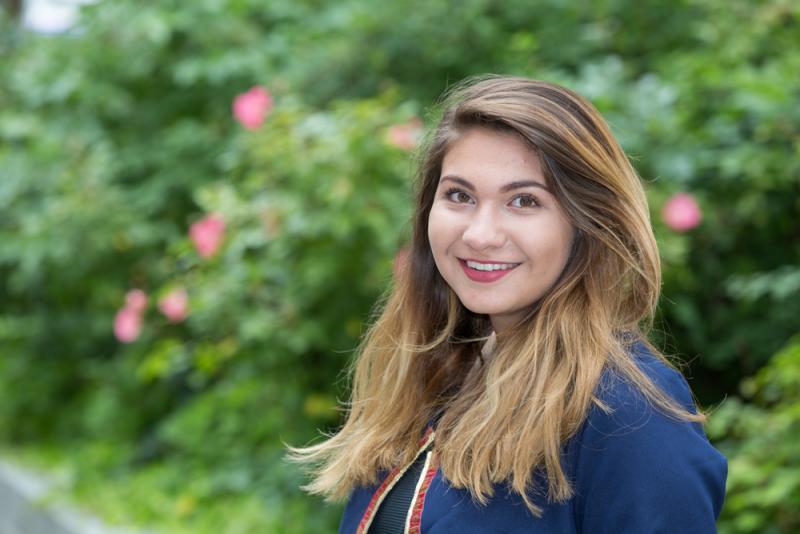 Julieta Beterons Bosch absolvierte ein Praktikum bei der WEMAG