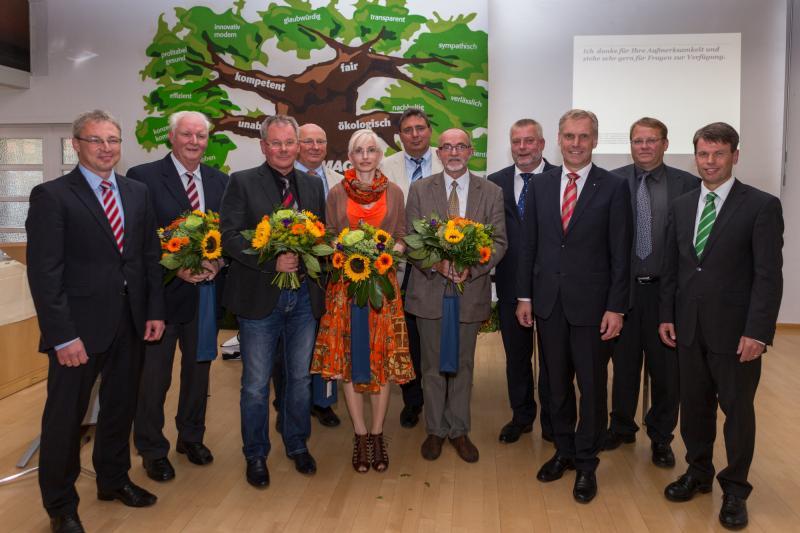 Verabschiedung des bisherigen KAV-Vorstands und Begrüßung der neuen Verbandsvorstandes