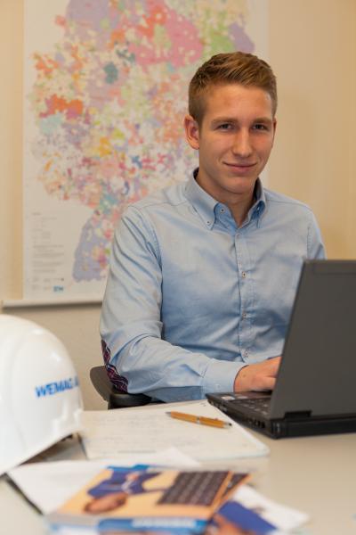 WEMAG-Dualstudent Karsten Lindemann absolvierte ein Auslandspraktikum in Belgien