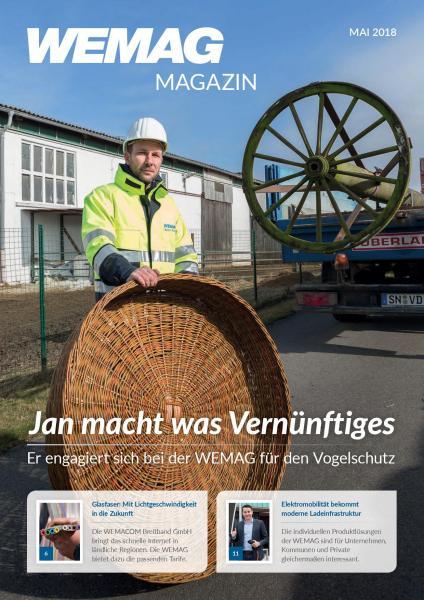 Titelbild des WEMAG Kundenmagazins 1-2018