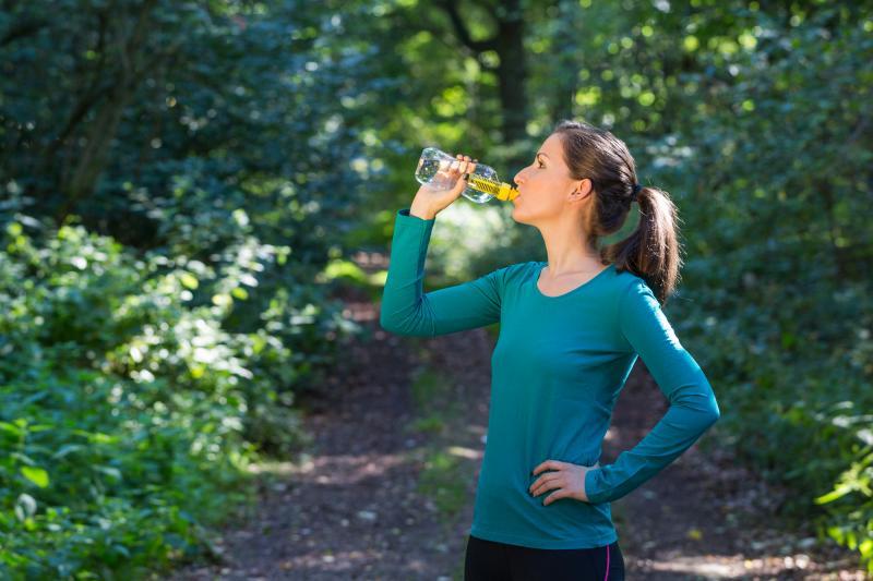 Laura testet die Water Bobble Trinkflasche