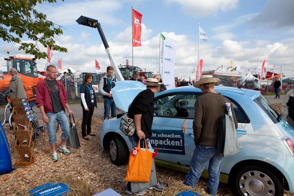Elektromobilität auf der MeLa 2012