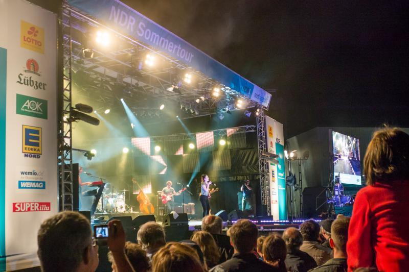 WEMAG bei der NDR-Sommertour 2013 dabei