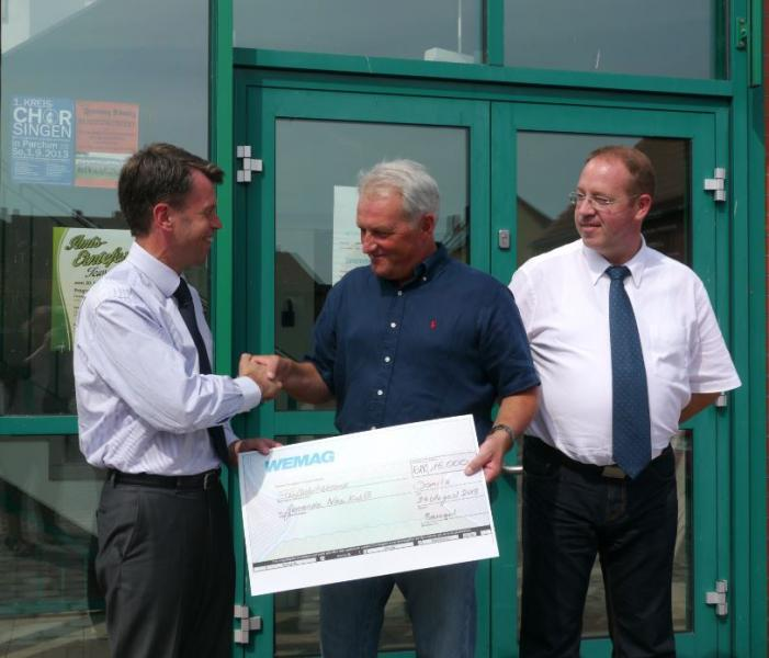 WEMAG spendet 15000 Euro an die Gemeinde Neu Kaliß