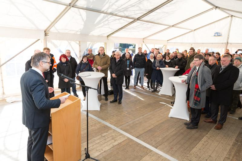 Spatenstich Breitbandausbau Neuburg Siggelkow