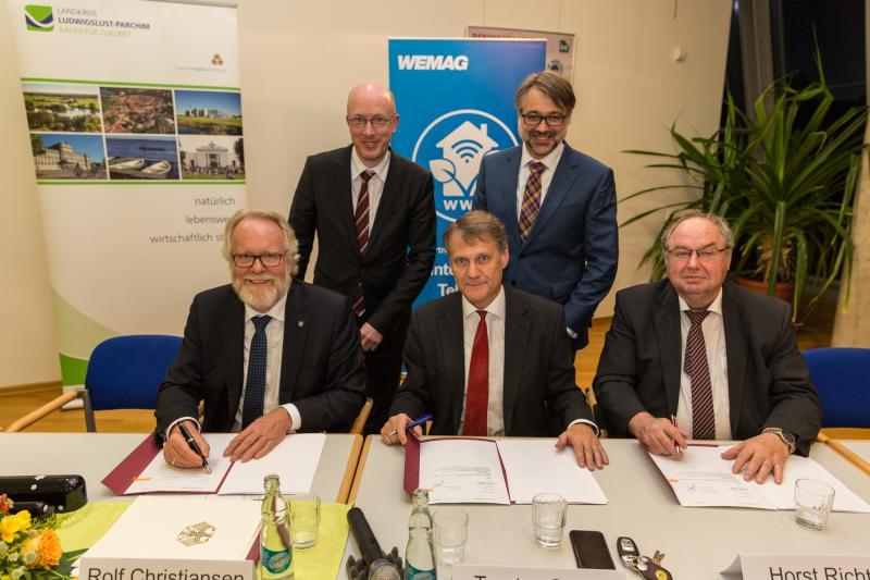 WEMACOM unterzeichnet Vertrag zum Breitbandausbau