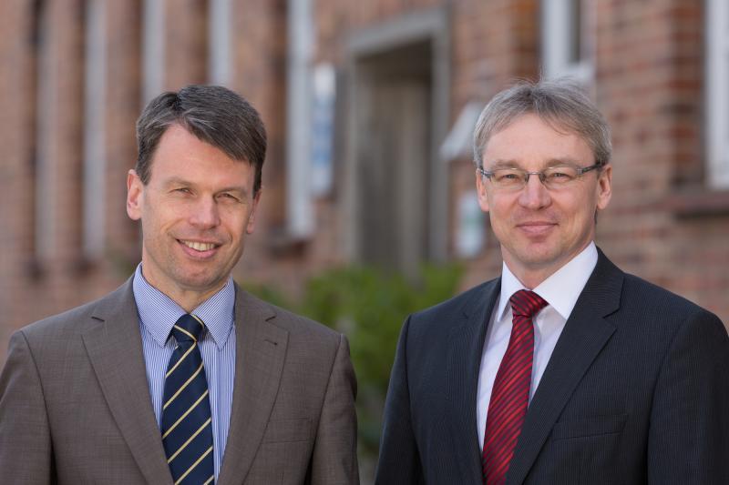 WEMAG-Vorstand mit Caspar Baumgart und Thomas Pätzold