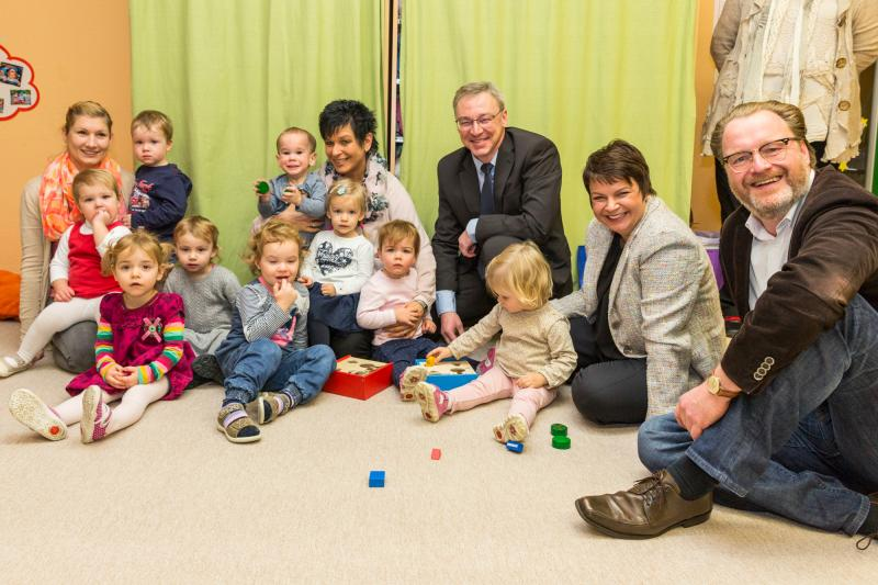 Auftak der Kita Weihnachtsaktion in Wittenförden