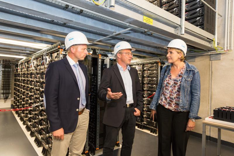 Batteriespeicher beweist flexiblen Einsatz im Energiesystem