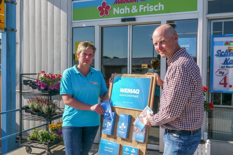 WEMAG richtet Servicestation im Marnitzer Dorfladen ein