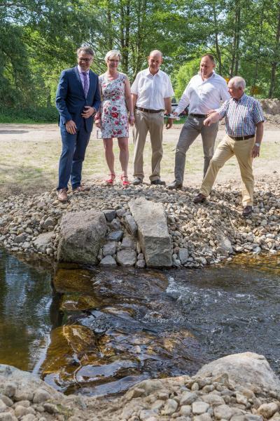 WEMAG fördert Fischtreppe