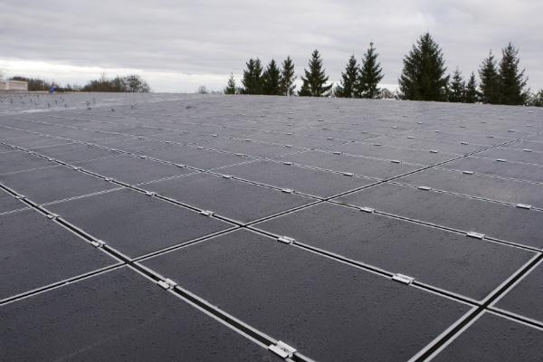 Große Photovoltaikanlage bei Güstrow
