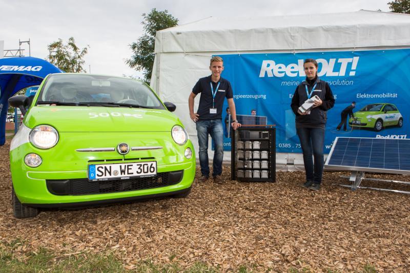 WEMAG-Elektromobilität auf der MeLa 2013