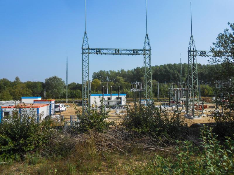 Neues Umspannwerk entsteht in der Nähe von Güstrow
