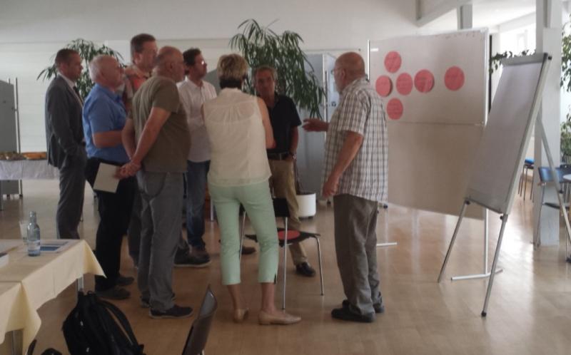 Thema der zweiten Sitzung des Kundenbeirats war Erneuerbare Energien