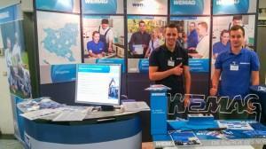 WEMAG-Azubis unterstützen bei den Messerveranstaltungen