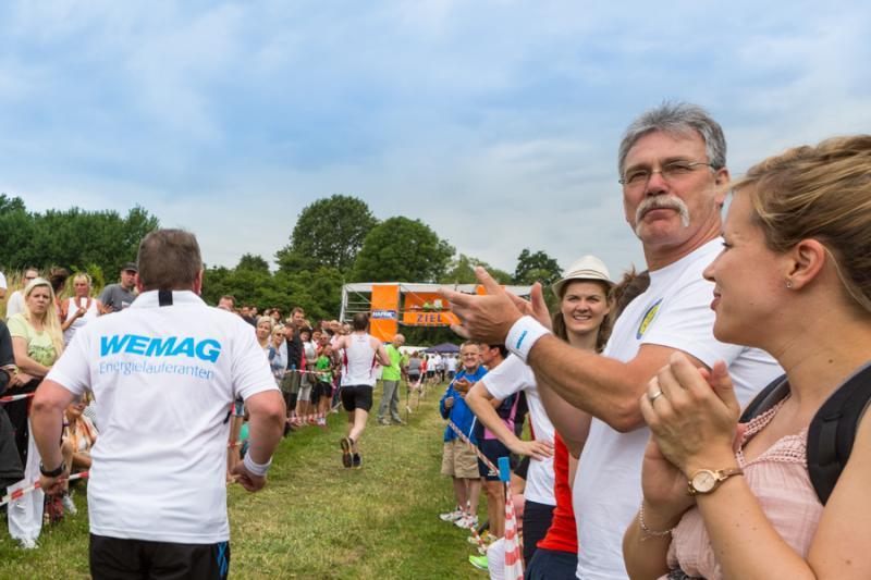 Die WEMAG Energieläuferanten beim diesjährigen Fünf-Seen-Lauf