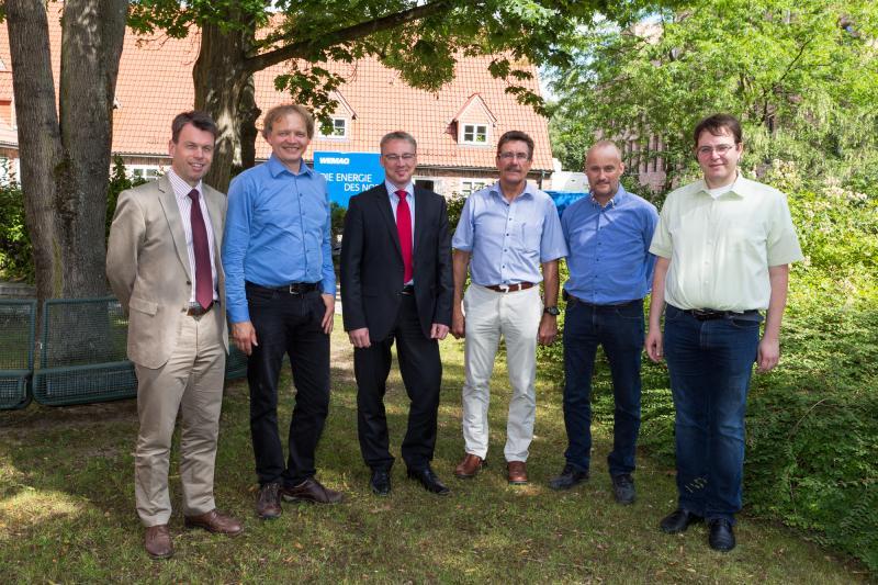 Sommergespräch bei der WEMAG über Biogas