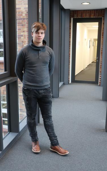 Praktikant Sascha Jeske erlebt seinen ersten Tag bei der WEMAG