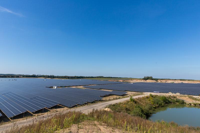Solarpark in Zietlitz