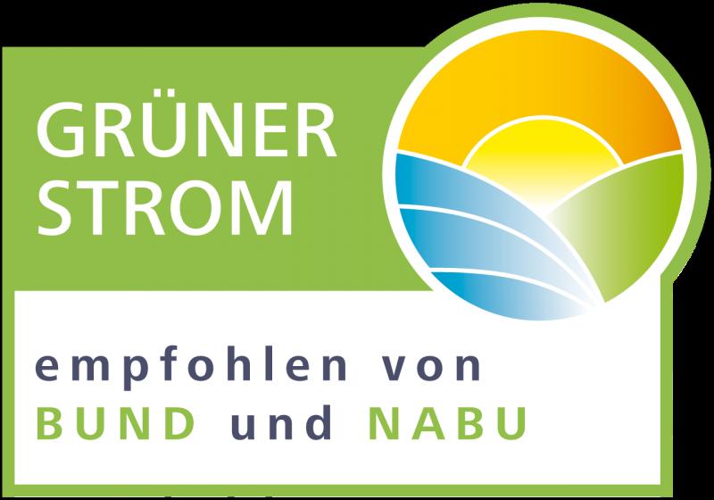 WEMAG grüner Strom Label - empfohlen von BUND und NABU