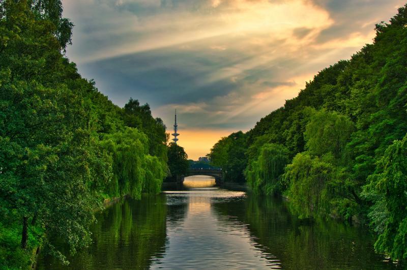 Grünes Hamburg - Ökostrom von der WEMAG