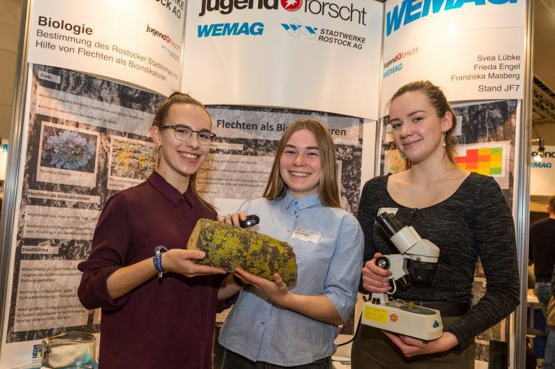 Jugend forscht Sieger Biologie 2019