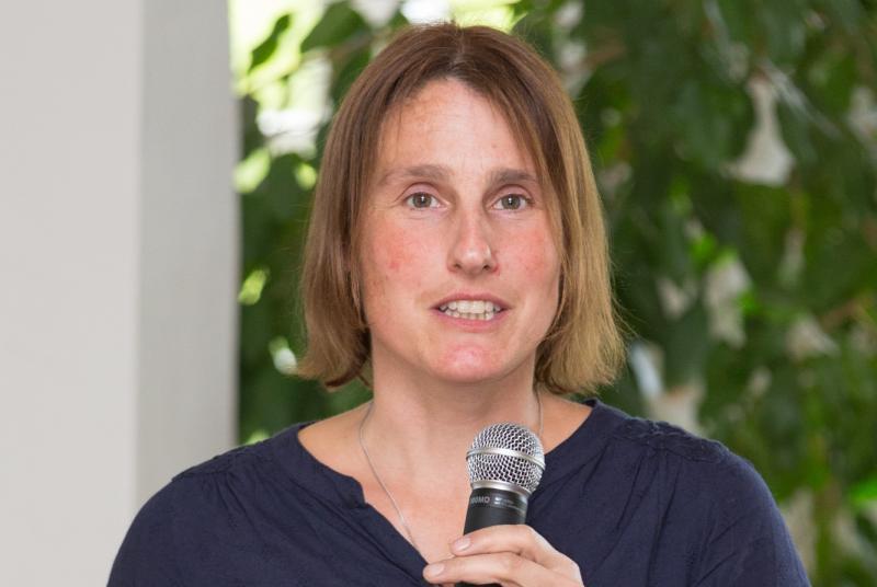 Juliane Mathes referierte über das Thema Datenschutz